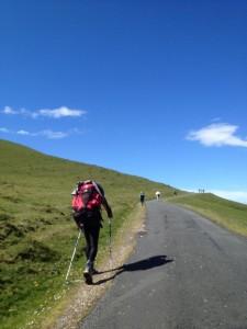Route Napoléon vers Roncevaux
