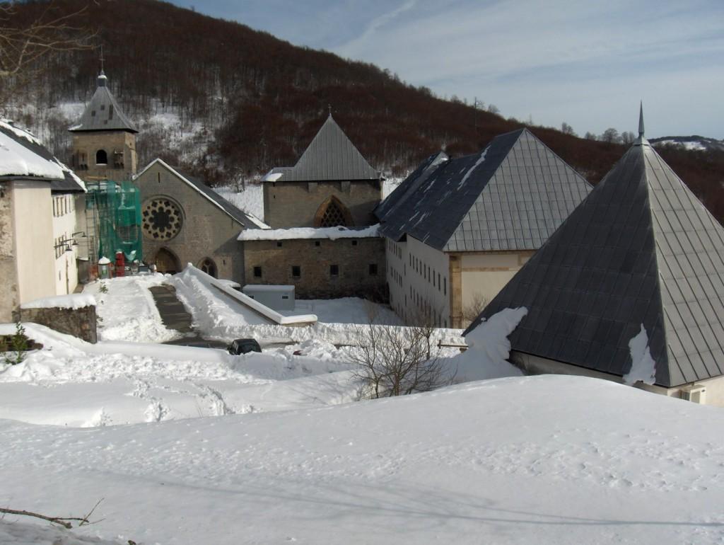 Roncevaux sous la neige