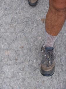 des chaussures adaptées