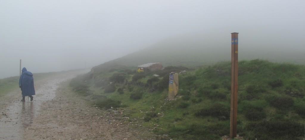 Pèlerin dans le brouillard le 12 juin 2010 !
